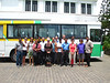 Last day, final bus ride & a sad goodbye to our guide in Colombo. Sri Lanka.