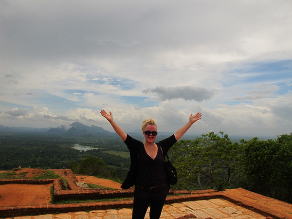 On top of the world in Sri Lanka.
