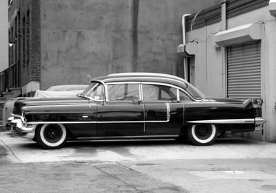 Classic car in Brooklyn, NY.