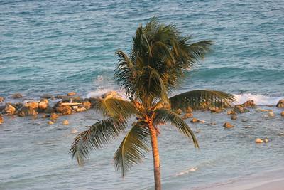 Barbados near the Hilton.