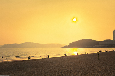 Haeundae Beach, Busan - South Korea