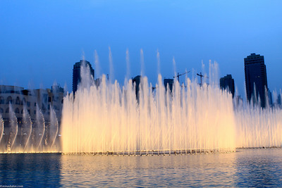 Dubai Fountain - Dubai