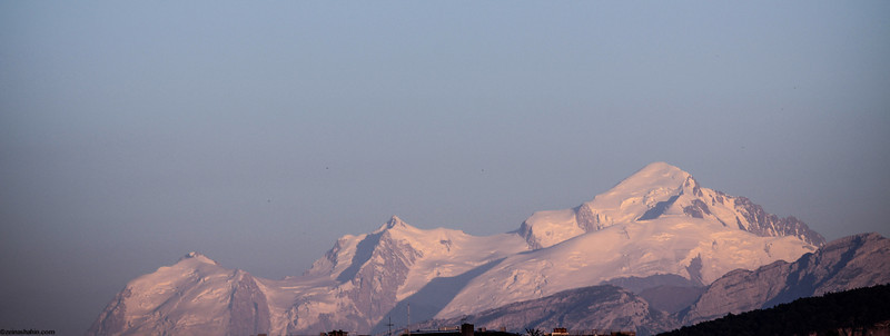 Mont Blanc from a distance...