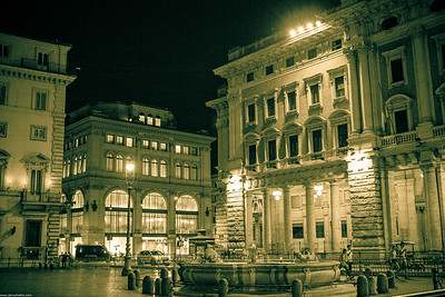 Rome by night..
