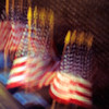 Flags in Motion - Vietnam Memorial - Washington DC