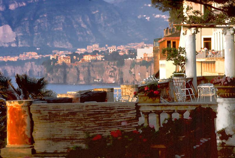 Bay of Naples from Balcony