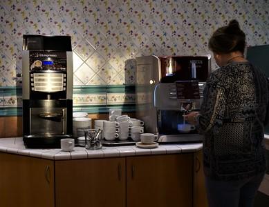 All the espresso, cappuccino, macchiato, Americano you want