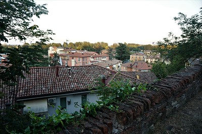 View of Bazzano from the top of the hill