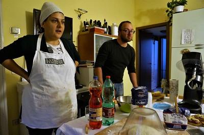 The teachers - Chiara and Gigio