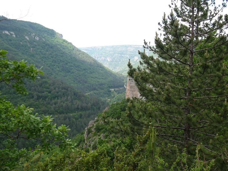 Somewhere east of Millau, France