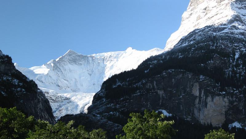 Grindelwald Glacier panorama