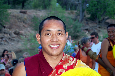 Tibetan Monks Peace Mandala Closing Ceremonies, Zion Natl. Park, June 29, 2007
