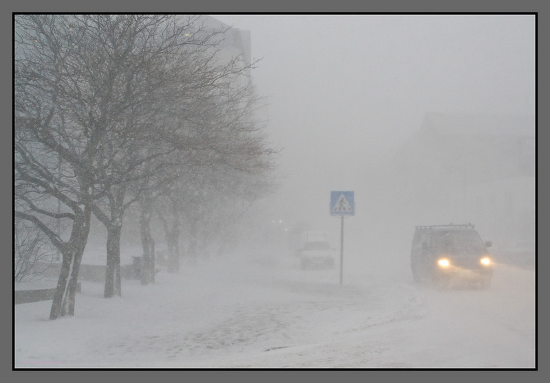 Winter mood I<br /> Sjøgata, Bodø