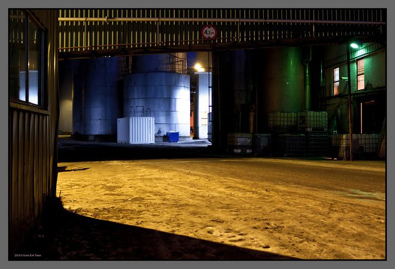 Passage <br /> Herring oil factory, Bodø