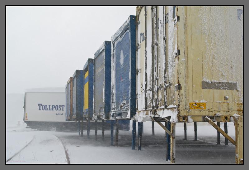 Freight at a hold<br /> Rønvik, Bodø
