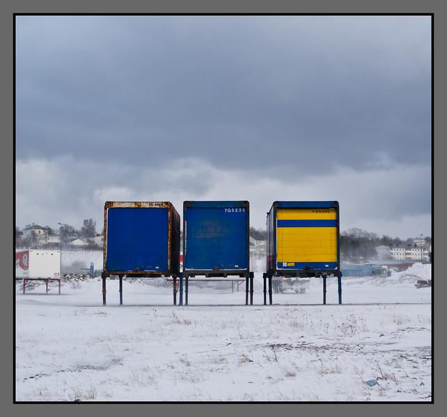Only three left<br /> Bodø freight terminal