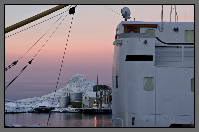 Afternoon winter light <br /> Bodø harbour