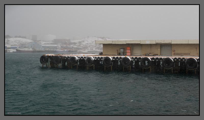 Winter quay<br /> Bodø harbour