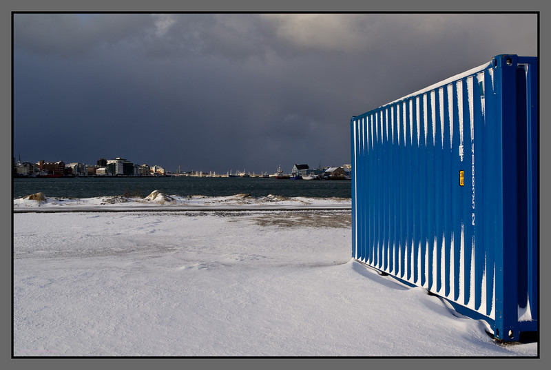 Blue<br /> Rønvik industrial area, Bodø