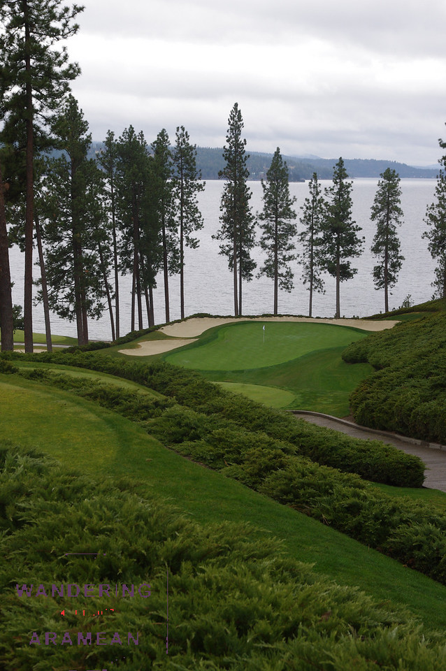 More beauty on the course in Coeur d'Alene
