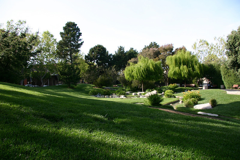 I had a snooze in a park between Battery Street and the Embarcadero.  The grass was so soft!