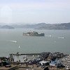 View of Alcatraz from Coit Tower.