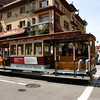 California Street cable car.