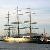 The 1886 square-rigged ship Balclutha.
