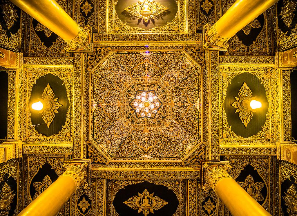 Shwedagon Paya. Yangon, Myanmar.