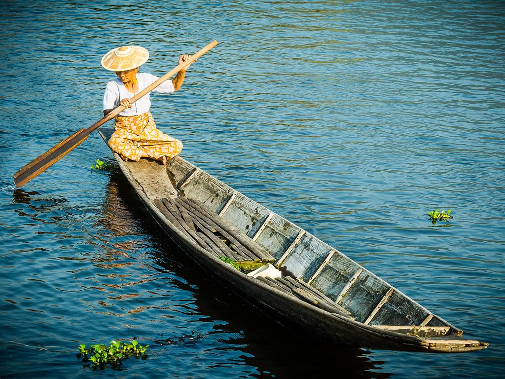 Maing Thauk floating village, Inle Lake, Myanmar.