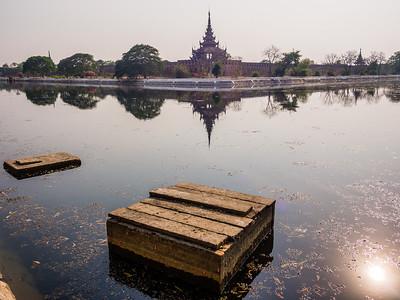 Mandalay fort, Myanmar