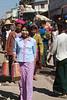 Ladies shopping at Market at Aung Ban
