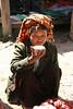 Lady having tea at Samka market