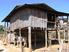 House at pottery-making village on Inle Lake
