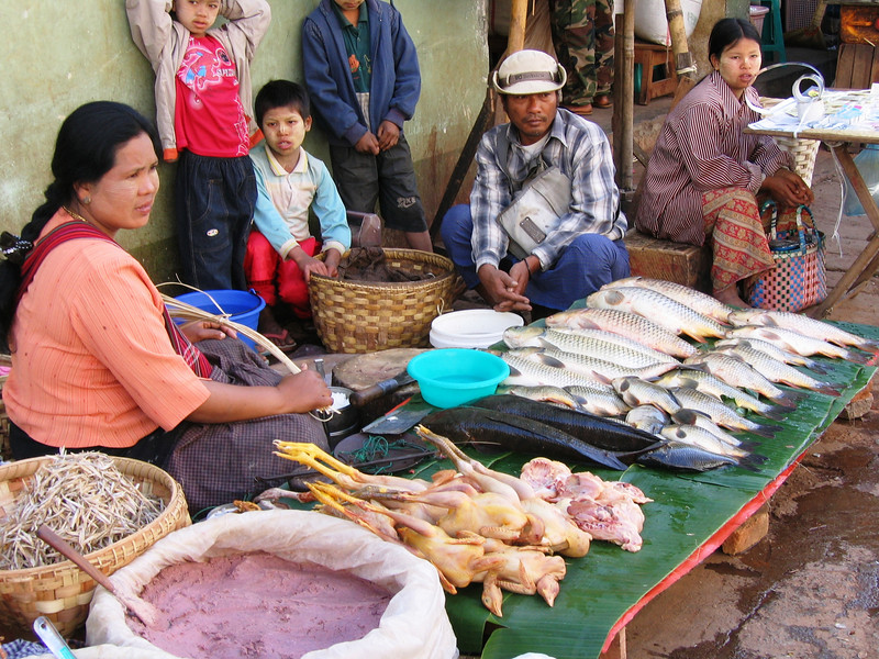 Central Market at Taunggyi