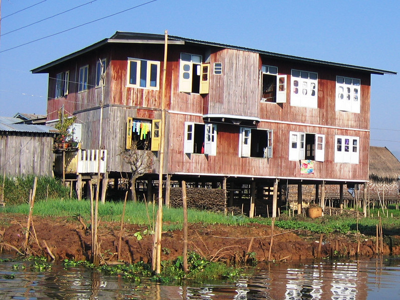 House on stilts - Inle Lake
