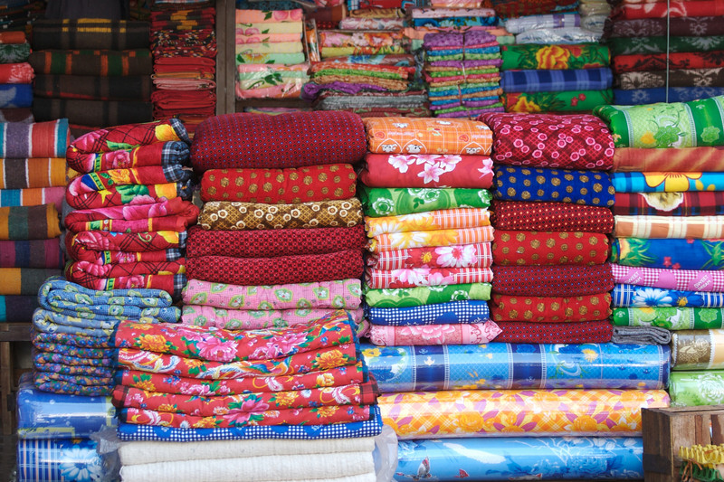 Fabric for sale - Central Market, Taunggyi