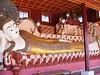 Reclining Buddha at Tharkong Pagoda near Samka