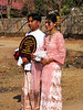 Parents of Novice-to-be, Buddhist procession, Old Bagan