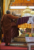 Golden Buddhas at Phaung Daw Oo Pagoda, Inle Lake