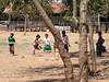 Children playing at school near Samka
