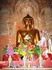 Buddha image, Dhammayazika Pagoda, Bagan