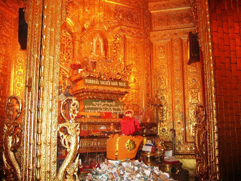 Buddha Sacrad Tooth Relic, Botahtaung Pagoda, Yangon