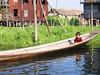Boy in boat - Inle Lake