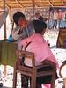 Barber at Indein Market - Inle Lake