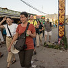 Strolling through the market at Nyaung Shwe. by Jook