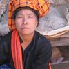 Akha lady at the market. by Kathy