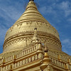 One of the many beautiful golden domed temples. by Susan