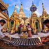 Shewdagon Pagoda. by Jook