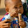 child w/sugar cane